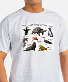 Animals of the Galapagos Islands T-Shirt