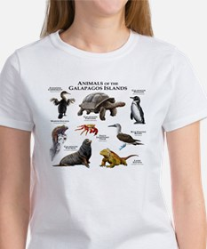 Animals of the Galapagos Islands Women's T-Shirt