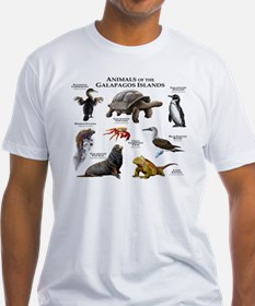 Animals of the Galapagos Islands Shirt