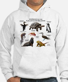 Animals of the Galapagos Islands Hoodie