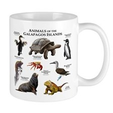 Animals of the Galapagos Islands Mug