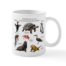Animals of the Galapagos Islands Small Mug