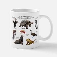 Animals of the Galapagos Islands Small Small Mug