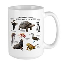 Animals of the Galapagos Islands Mug