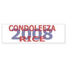 Campaign 2008 Condoleeza Rice Bumper Bumper Sticker