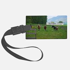 Circle F herd Luggage Tag