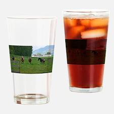 Circle F herd Drinking Glass
