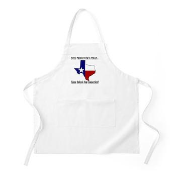 Proud Texan, Dub's not! BBQ Apron