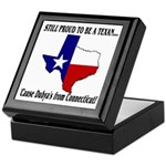 Proud Texan, Dub's not! Keepsake Box