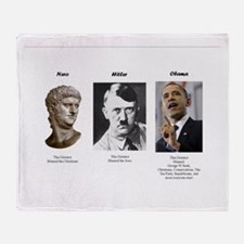 Dictator blame Throw Blanket