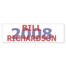 Campaign 2008 Bill Richardson Bumper Bumper Sticker