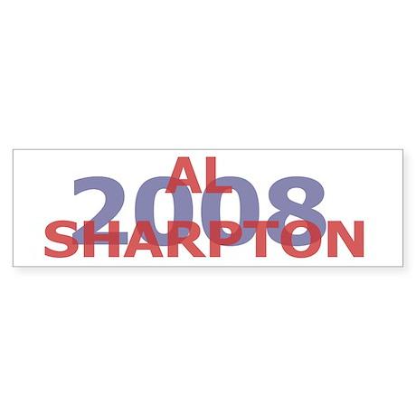 Campaign 2008 Al Sharpton Bumper Sticker