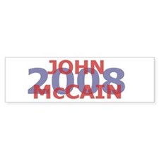 Campaign 2008 John McCain Bumper Bumper Sticker