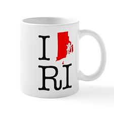 I Love RI Rhode Island Mug