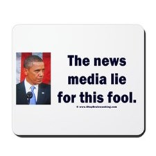 News Media Lies Mousepad