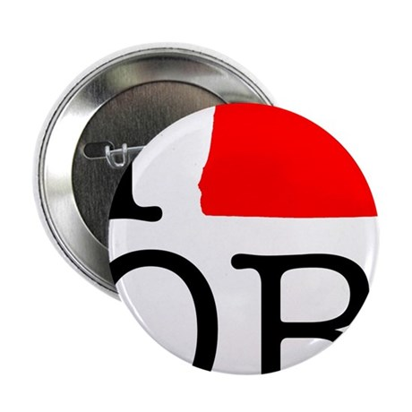 """I Love OR Oregon 2.25"""" Button (10 pack)"""