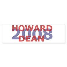 Campaign 2008 Howard Dean Bumper Bumper Sticker