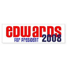 Edwards for President 2008 Bumper Bumper Sticker