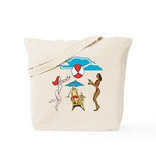 Beach Daze Custom Tote Bag two sided print