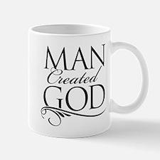 Man Created God Mug