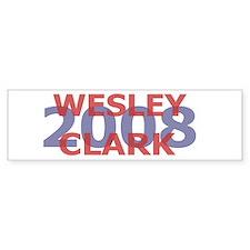 Campaign 2008 Wesley Clark Bumper Bumper Sticker