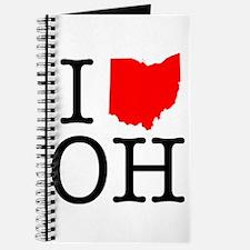 I Love OH Ohio Journal