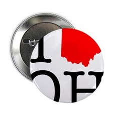 "I Love OH Ohio 2.25"" Button"