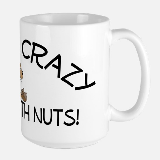Crazy Squirrel Large Mug