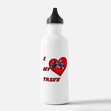 I Heart My Trike Water Bottle