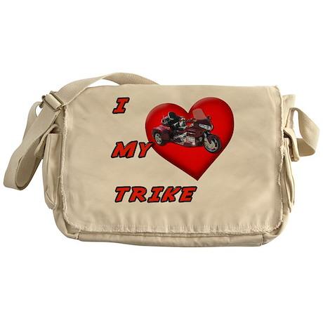 I Heart My Trike Messenger Bag