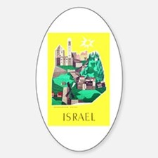 Israel Travel Poster 1 Decal