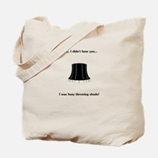 Throw Shade Tote Bag