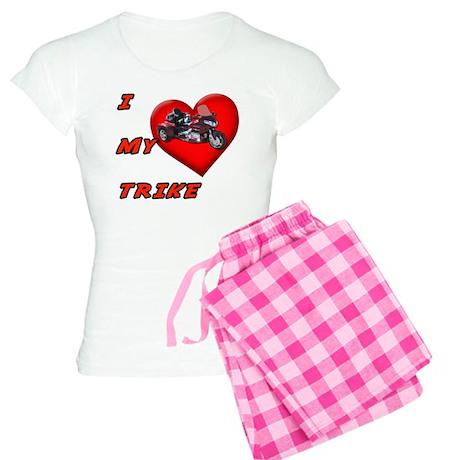 I Heart My Trike Women's Light Pajamas