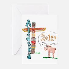 Alaska 2012 Greeting Cards (Pk of 20)