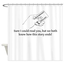 Could Read Shower Curtain