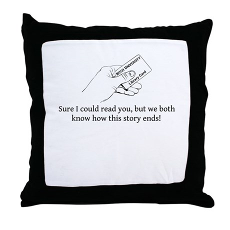Could Read Throw Pillow