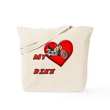 I Heart My Bike Tote Bag