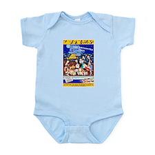 Martha's Vineyard Travel Poster 1 Infant Bodysuit