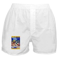 Martha's Vineyard Travel Poster 1 Boxer Shorts