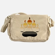 Large Paw Messenger Bag