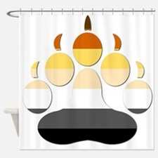 Large Paw Shower Curtain