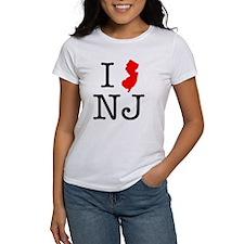 I Love NJ New Jersey Tee
