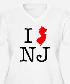 I Love NJ New Jersey T-Shirt