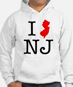 I Love NJ New Jersey Jumper Hoody