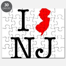 I Love NJ New Jersey Puzzle