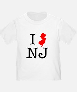 I Love NJ New Jersey T