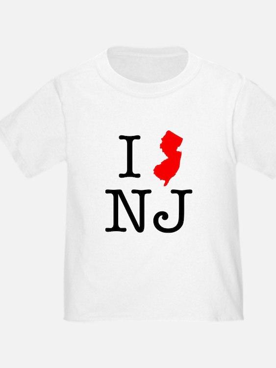 I Love NJ New Jersey T