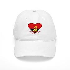 Angolian proud flag Baseball Cap