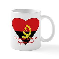Angolian proud flag Mug