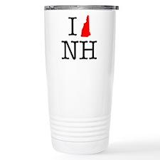I Love NH New Hampshire Travel Coffee Mug